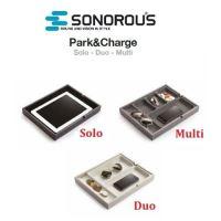 Sonorous park charge duo - organizér dvě přihrádky béžový