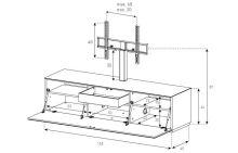 TV stolek Sonorous ST 161
