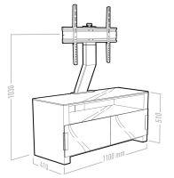 TV stolek Erard Bilt 11003